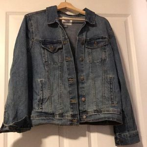 Old Navy Jean Jacket Size XL